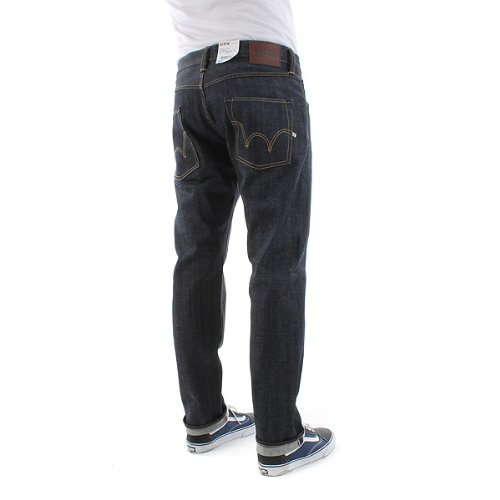 Edwin ED-55 Relaxed Red Listed Selvage Denim Blue blue