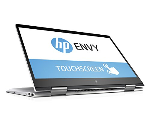 HP ENVY x360 15-bp106ng 39,6 cm (15,6 Zoll Full HD IPS Touchdisplay) Convertible Notebook (Intel Core i5-8250U, 8GB RAM, 1TB HDD, 128GB SSD, Intel HD Graphics, Windows 10 Home) silber