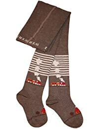 Weri Spezials Enfants Collants, Chemins de fer, Marron