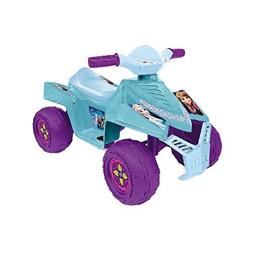 FEBER Quad Frozen 6V Alimentado con batería Quadricycle - Juguetes de Montar (Alimentado con batería, Quad, 1 año(s), 4 Rueda(s),, Niño/niña)