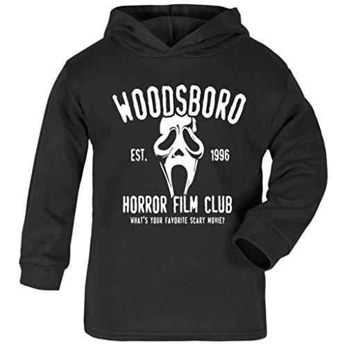 Cloud City 7 Scream Woodsboro Horror Film Club Baby and Kids Hooded ()