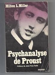 Psychanalyse de Proust