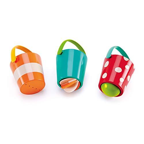 Hape- Juguete baño bebé Cubos alegres Barrutoys