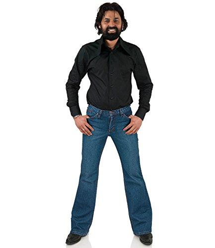 Bootcut Jeans Schlaghose Star Paradise Blau