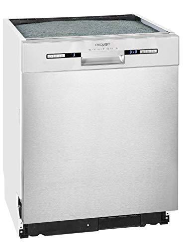 Exquisit EGSP 6225 Inox Spülmaschine, inox