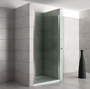 nische duscht r duschkabine dusche duschwand pendelt r sicherheitsglas esg klarglas breiten. Black Bedroom Furniture Sets. Home Design Ideas