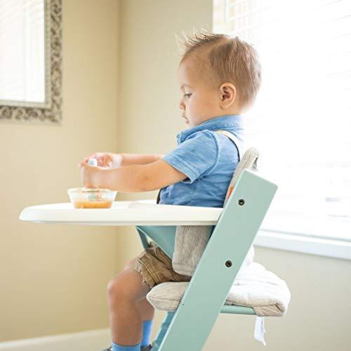 Blausberg Baby *4 couleurs* coussin set de si/ège pour chaise haute Stokke Tripp Trapp 100/% made in Hamburg Happy Star jaune moutarde ENDUIT
