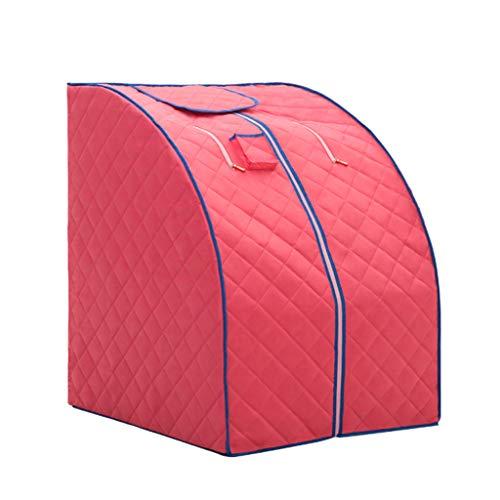 ADKINC 2L Tragbare Dampfsauna Spa Faltzelt Schnell Falten Schlank Gewichtsverlust Detox-Therapie Personal Home (Leinwand Stuhl) -