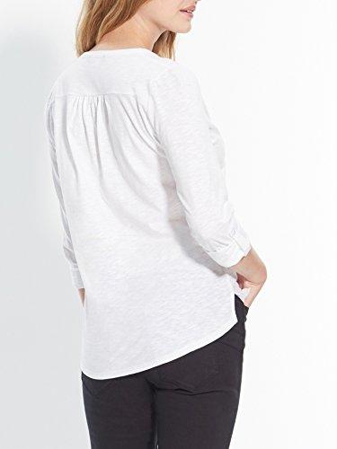 Balsamik - Tunica ampia ravvivata da lustrini - donna Bianco chiaro uniforme