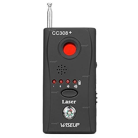 Wiseup Caméra contre Espion sans fil RF signal GSM Bug détecteur périphérique chercheur