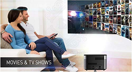 Digital Projector - 300 Inch 1080P Full HD 3D 3GB 16GB Android 5 1 Bluetooth Wifi Support 4K DLP TV Beamer Projector Home Theater  Standard Package