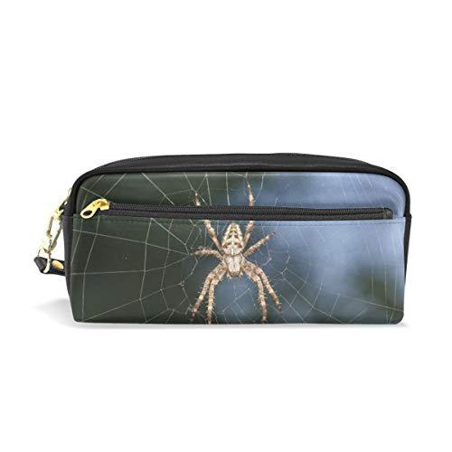 Federmäppchen Stationäre Insekten Spinnennetz Bleistift Taschen Tragbare Tasche für Schulkinder Kinder Kosmetiktasche Make-up Beauty Case -