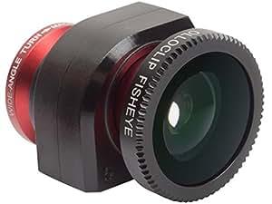 Olloclip 3-in-1 Objektiv für iPhone 5/5s rot