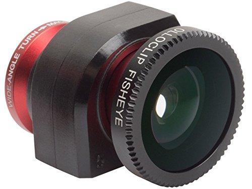 Preisvergleich Produktbild Olloclip 3-in-1 Objektiv für iPhone 5/5s rot
