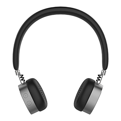 Artis BH400M Bluetooth Headphone with Mic. with Aux in. (Space Grey)  available at amazon for Rs.1199