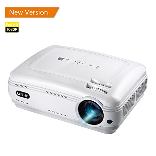 YKS- Proiettore 3200 Lumen 1080P Full HD Video...