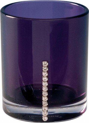 Sanwood by Nicol 6942024 Marilyn Becher mit Swarowski Elements, Durchmesser 8,5 x 7 cm, violett