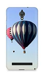 Amez designer printed 3d premium high quality back case cover for Asus Zenfone C ZC451CG (Rare scenic hot air balloon)