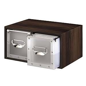 Hama CD-/DVD-Box Espresso für 260 CDs: Amazon.de: Elektronik