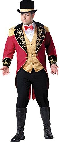 Für Erwachsenen Master Ring Kostüm - InCharacter - Zirkusdirektor Kostüm - XX-Large