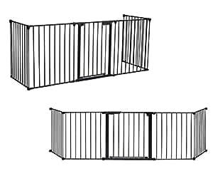 grille de protection pour chemin e 4 pi ces porte 300 cm barri re grille de s curit enfant. Black Bedroom Furniture Sets. Home Design Ideas
