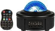 مصباح إضاءة ليلية من Innoo Tech Star، جهاز عرض بتموجات المحيط 11 لوناً LED للتحكم عن بعد مصباح آلة عرض مدمج بل