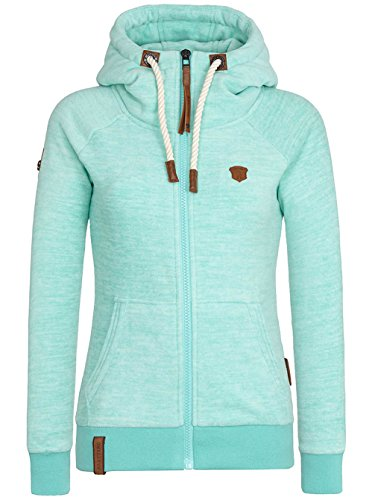 Naketano Female Zipped Jacket Gigi Meroni V light green melange