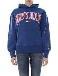 Amazon Felpe Abbigliamento Senza Felpe it Cappuccio Jeans Tommy PwrPqtT