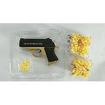 MINI pistola metalica de balines airsoft, 9cm*6.5cm,REGALO 2 bolsas balines