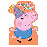 PARTY PROPZ PEPPA PIG THANK YOU TAG 12 P...