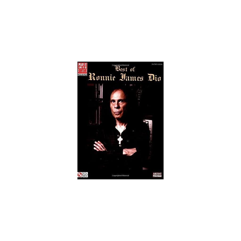 Best of Ronnie James Dio Songbook (Play It Like It Is Guitar) (English Edition) [Print Replica] Versión Kindle