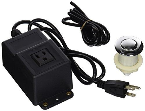 dyconn Wasserhahn Garbage Entsorgung Spüle Top Air Schalter für Küche Zähler chrom, Bursh Nickel oder Orb Modern chrome (Chrome-zähler)
