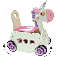 c99094cef516 I M TOY - Chariot Marche Porteur Licorne Cheval à Bascule - IM87900