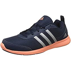 Adidas Women's Yking W Conavy/Silvmt/Sunglo Running Shoes - 8 UK/India (42 EU)