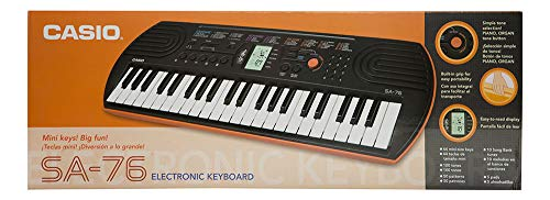 Casio SA-76AH5 Mini Keyboard
