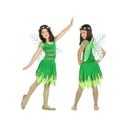 ATOSA 56918 COSTUME FAIRY GREEN 7-9, Mädchen, Grün, 7 a 9 años (Grüne Fee Teen Kostüm)
