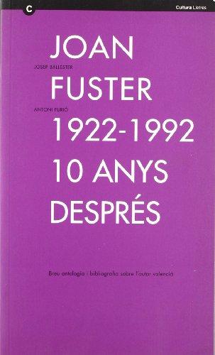 Joan Fuster 1922-1992 por Ballester