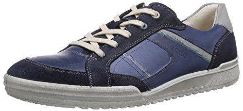 ECCO Fraser, Sneaker a Collo Basso Uomo Blu (Blue (Marine/Denim Blue/Concrete))