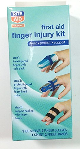 first-aid-finger-injury-kit-treat-protect-support-finger-cold-pack-foam-padded-splint-and-finger-ban