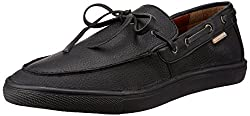 U.S. Polo Assn. Mens Black Loafers and Moccasins - 10 UK/India (44 EU)