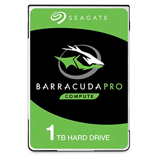 7200 U / Min Sata-festplatte, (Seagate ST1000LMZ49/LM049 BarraCuda Pro Interne Festplatte (1 TB, 6,35 cm (2,5 Zoll), 7200 U/min, 128 MB Cache, SATA 6 Gb/s, bis 160 MB/s))