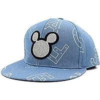 FHTD Gorra/Sombrero para Mujer De Mezclilla Sombrero De Hip Hop Sombrero,Lightblue