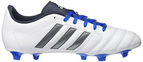 adidas Gloro 16.1 Fg, Chaussures de Football Compétition Mixte Adulte Blanc (Ftwr White/Night Metallic/Utility Blue)