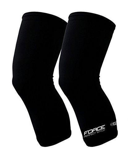 Force Knielinge, Knee Warmer, schwarz