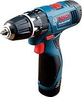 Bosch 06019F30K4 GSB-120 - Li Cordless Drill Driver, (Blue)