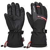 Cevapro Skihandschuhe Warme Winterhandschuhe wasserdichte Snowboard HandschuheTouchscreen Handschuhe für Herren Frauen zum Wintersport wie Skifahren Motorradfahren Fahrradfahren