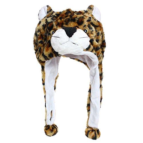 Kopfbedeckung Löwe Kostüm - Tiermütze Wintermütze Hut Kopfbedeckung Kostüm Karneval Cap 3Hat Loewe