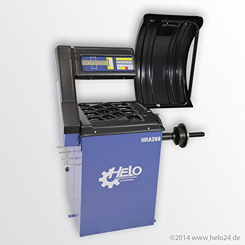 Radauswuchtmaschine HRA 268 mit integrierte Software für Eigentest und K...