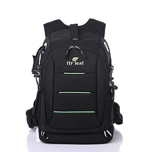 Zaino Multifunzianle per Fotocamera DSLR Accessori Backpack Antifurto Stile Business e Casual, Nero