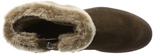 Sioux Nuska-Wf, Damen Kurzschaft Stiefel Braun (Turf)